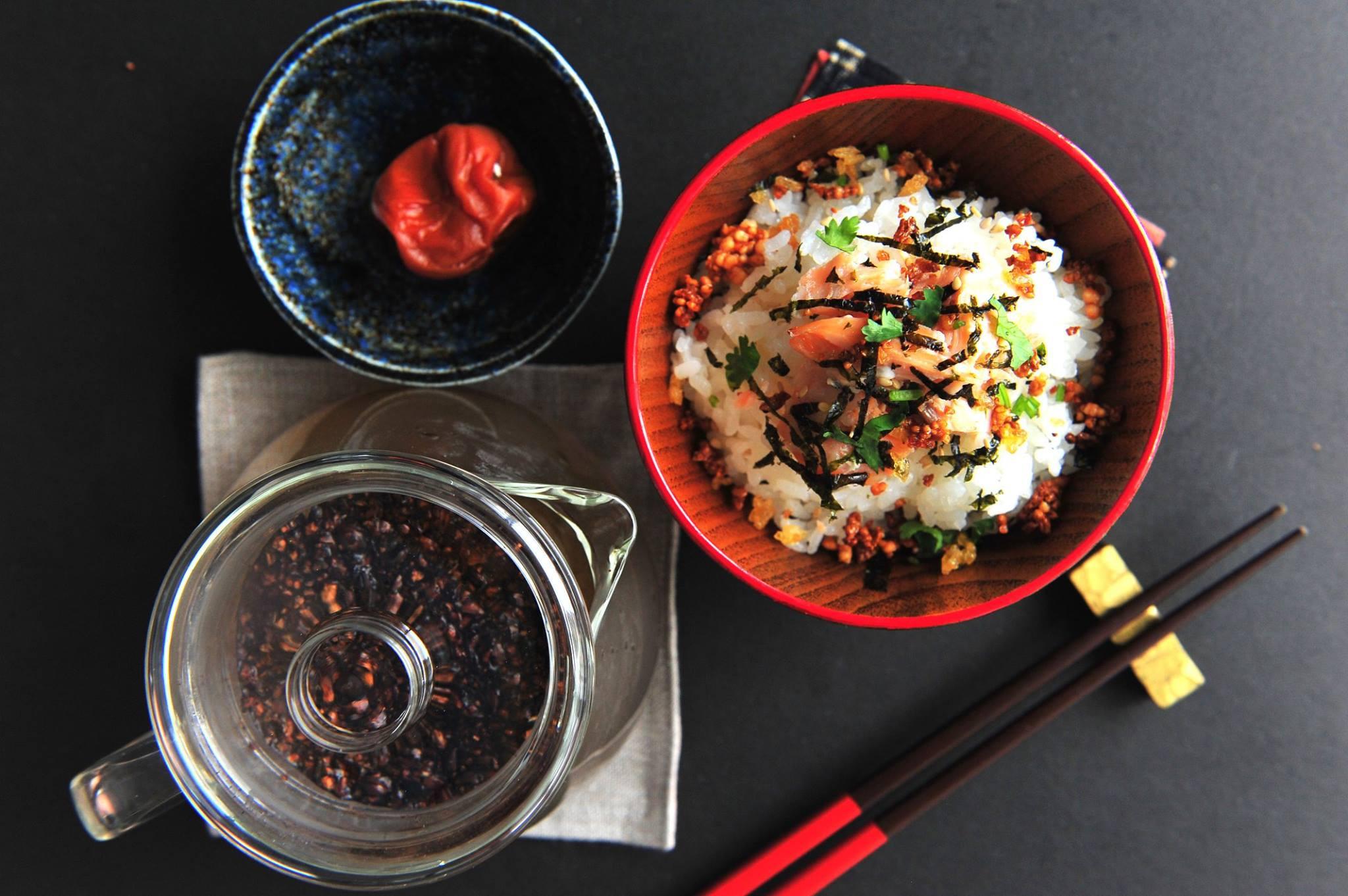 日式鮭魚茶泡飯