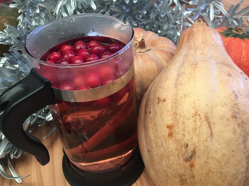 暖心癒茶湯- 蔓越莓肉桂茶