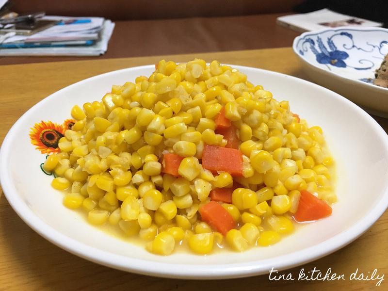 紅蘿蔔炒玉米🥕🌽