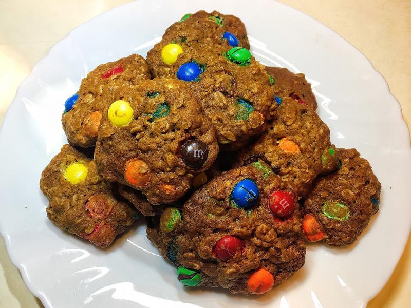 M&M燕麥餅乾