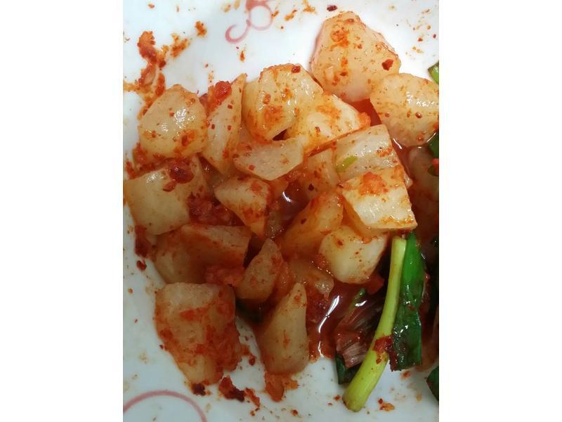 韓國小菜-Costco韓式醃蘿蔔