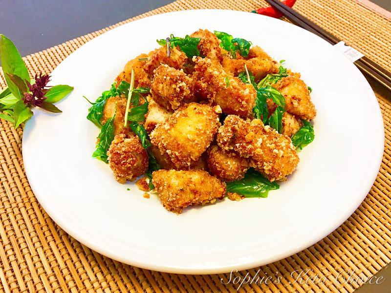 生酮鹹酥雞