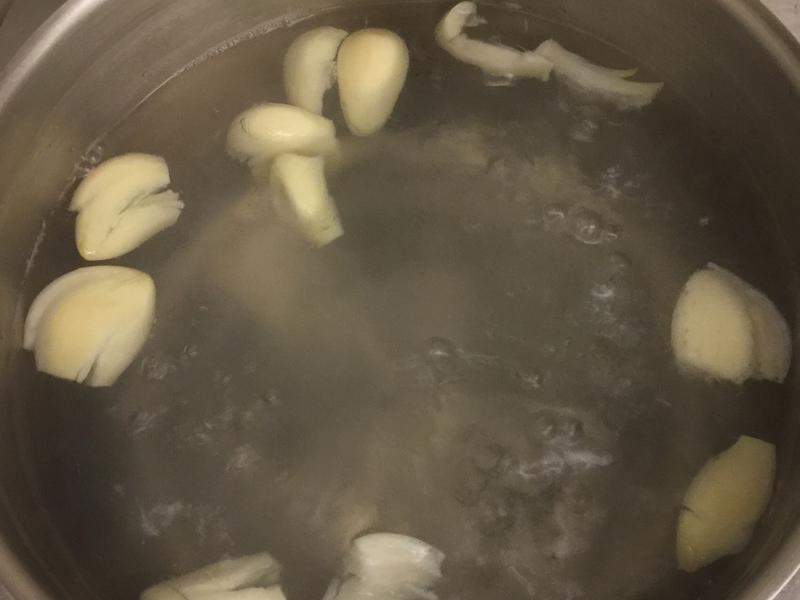 大蒜冰糖水