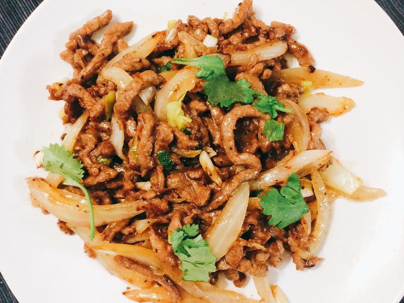 黑胡椒牛肉 家常菜