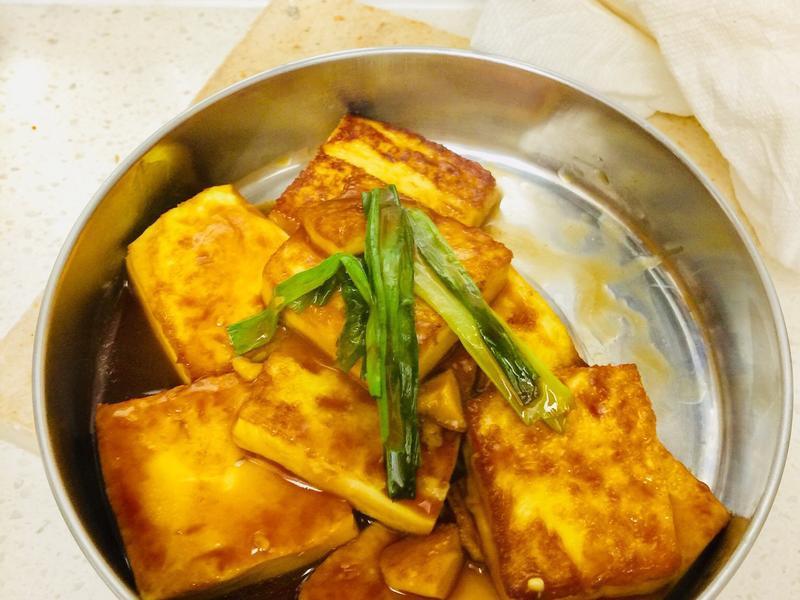《便當菜》醬燒蔥雞蛋豆腐