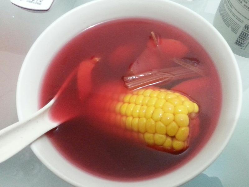 紅菜頭湯~補血喔