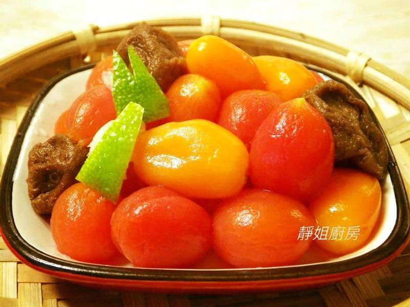 檸檬梅子蜜蕃茄