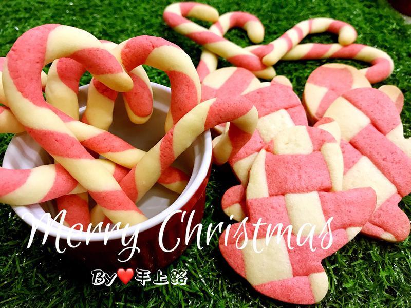 《應景聖誕》聖誕拐杖&聖誕手套造型餅乾