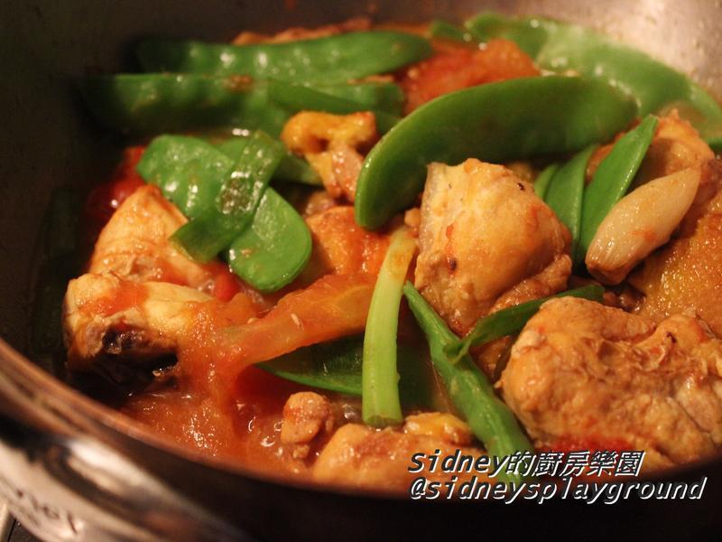 番茄燒雞肉