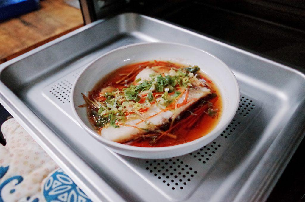 白酒蔥薑沙巴魚片