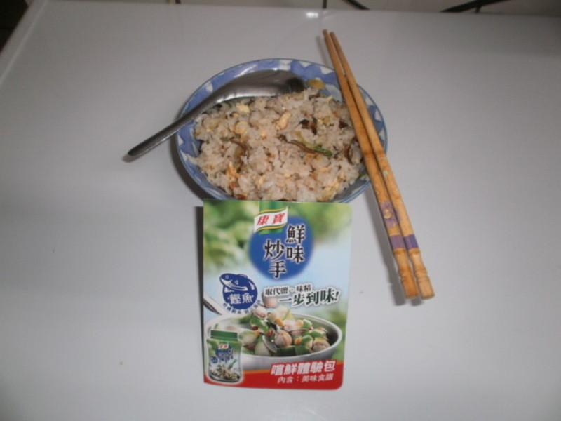 康寶鮮味炒手鰹魚風味 - 小魚乾花生蛋炒飯