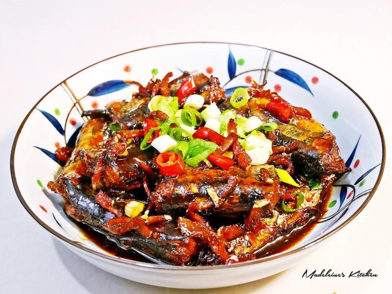 辣味薑燒秋刀魚