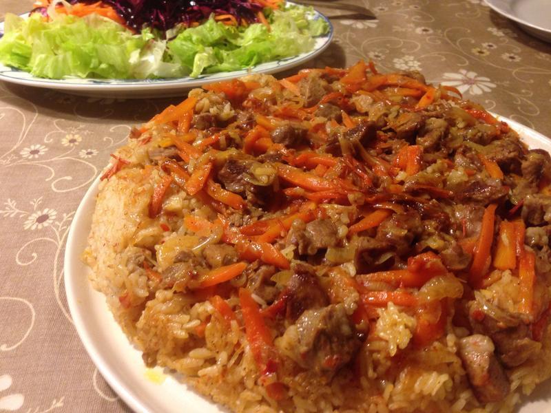 土式烏茲別克燉飯