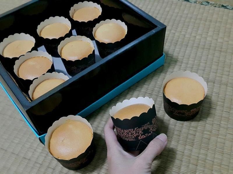 橙香牛奶杯子蛋糕