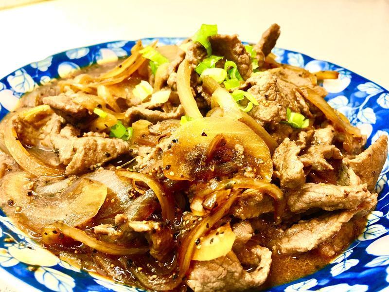黑胡椒牛肉《素蠔油》