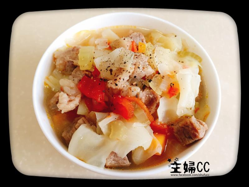 《湯湯水水》小傢伙也愛吃的丁丁羅宋湯