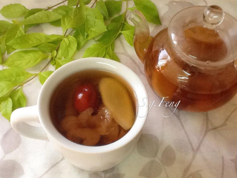 薑味紅棗桂圓茶
