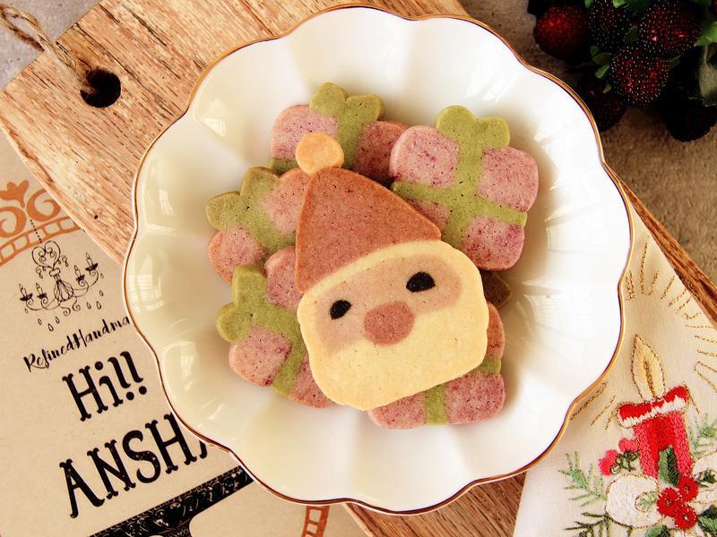 免壓模-聖誕老人造型餅乾