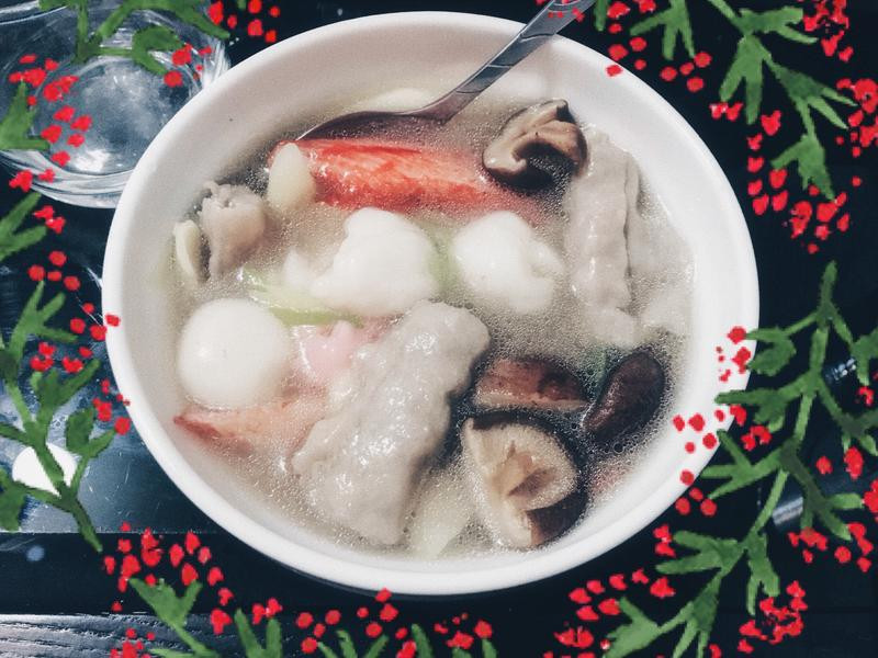 冬至必吃鹹湯圓⛄️《新手版》