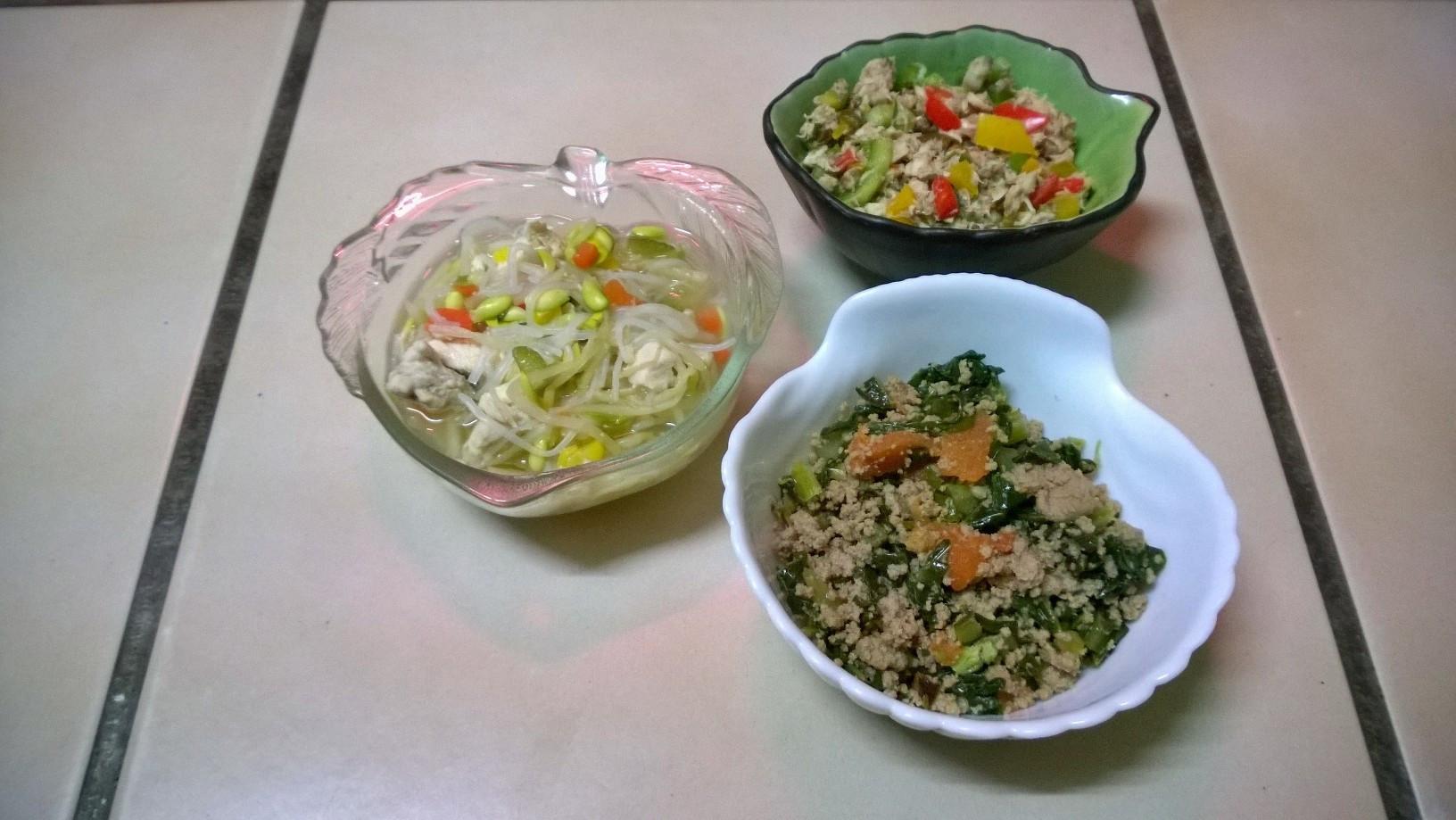 鮮食🐾 豆芽湯麵 煎烏魚 芥藍炒牛肉