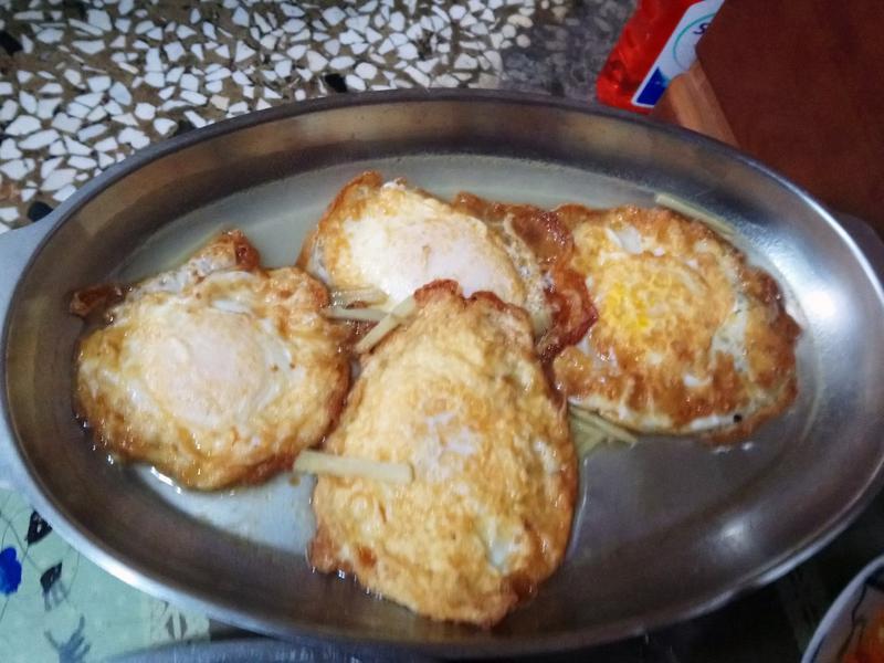 金門酒香麻油荷包蛋