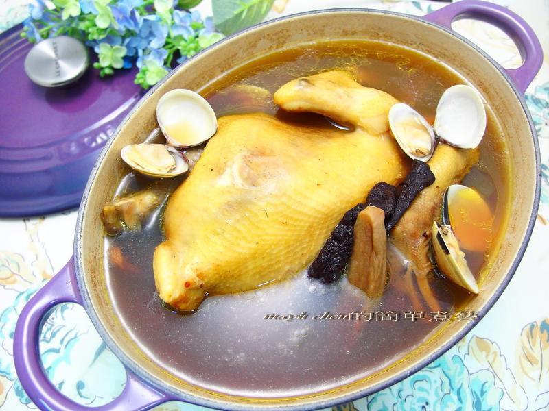 老菜脯雞湯