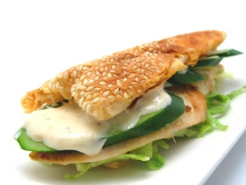 凱薩雞肉燒餅
