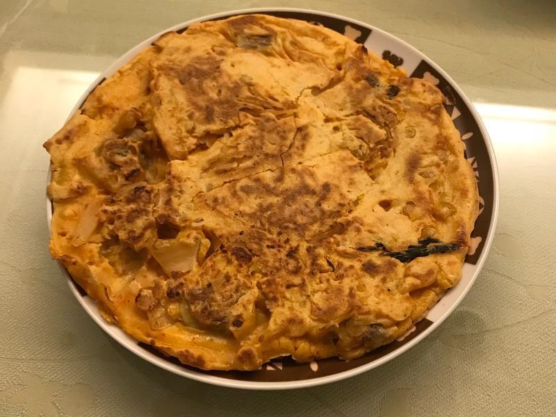 韓式泡菜蔬食煎餅