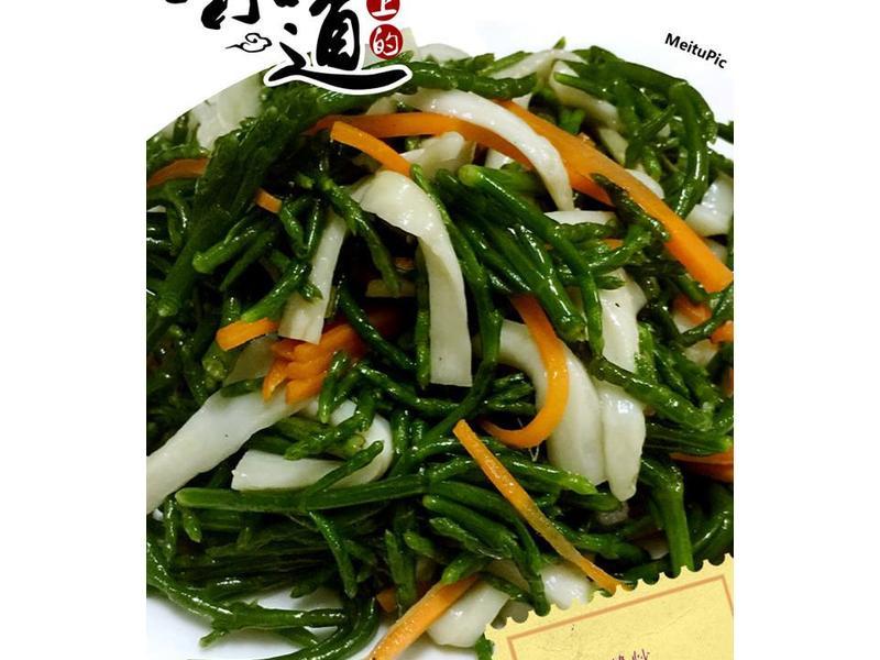 脆炒海蘆筍
