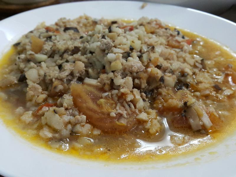 鮮香菇蕃茄肉醬
