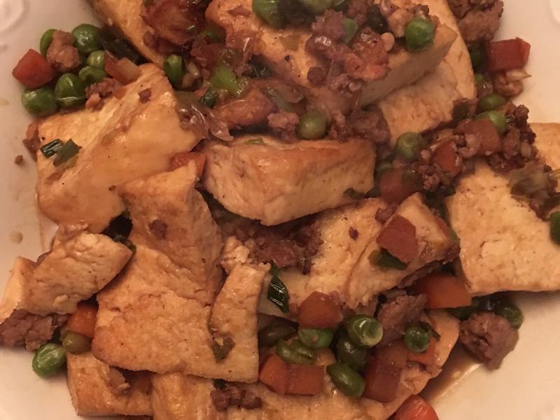 美式家常豆腐