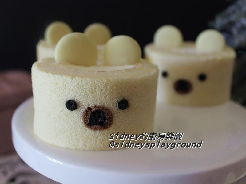 小熊造型蛋糕捲