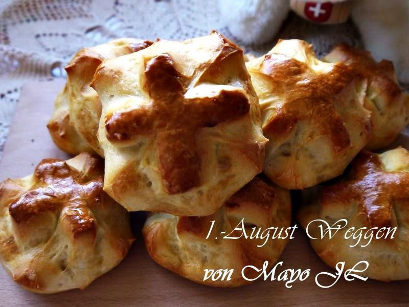 瑞士 國慶日麵包