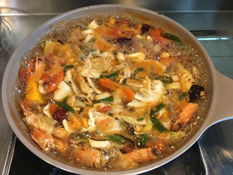 【火鍋湯底】自製海鮮湯底