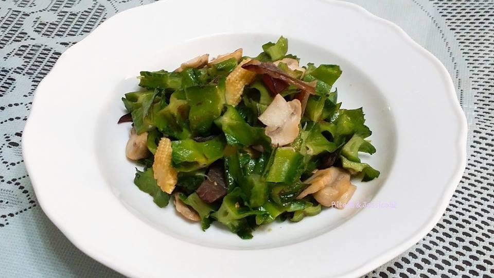 清炒翼豆(羊角豆)