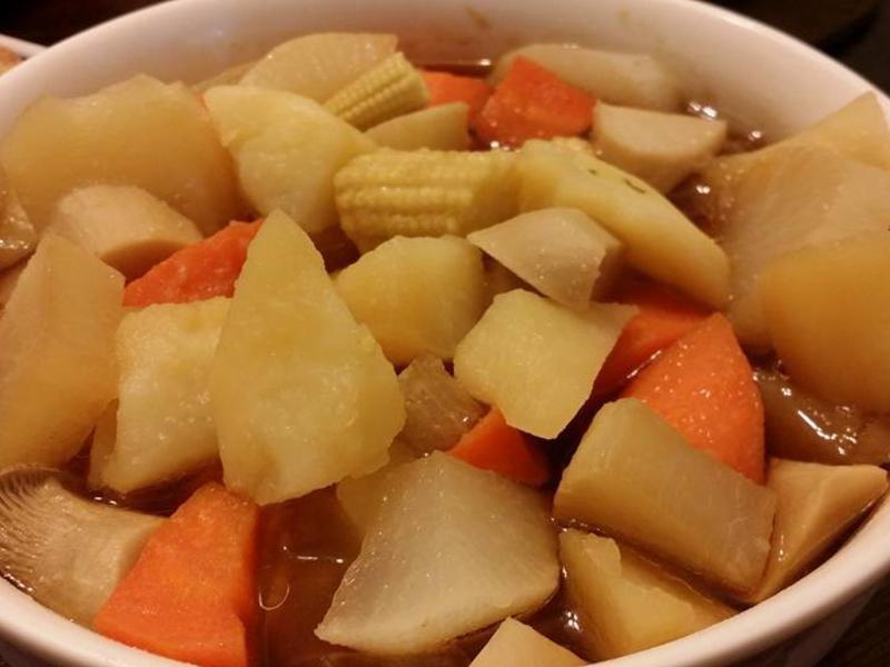 馬鈴薯燉菇燒(素)