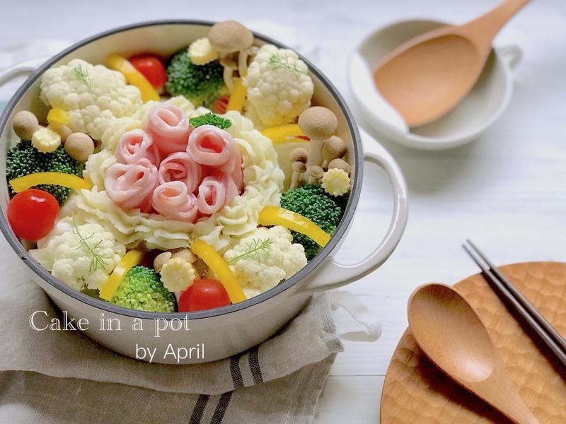 冰霜燉菜(奶燉時蔬)