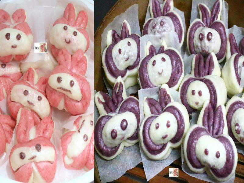 造型饅頭~兔子