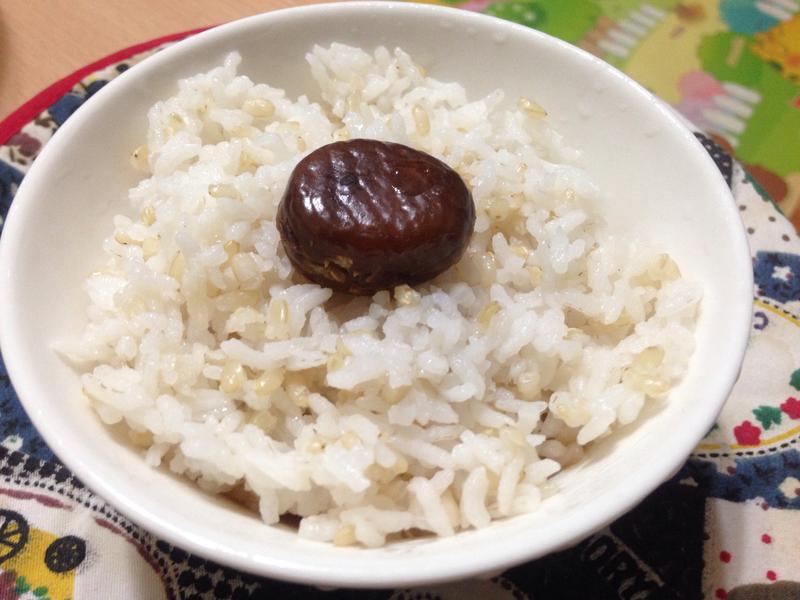 粟子糙米飯