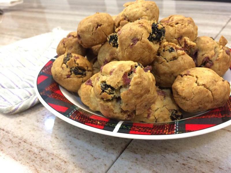 藍莓小司康Blueberry scone