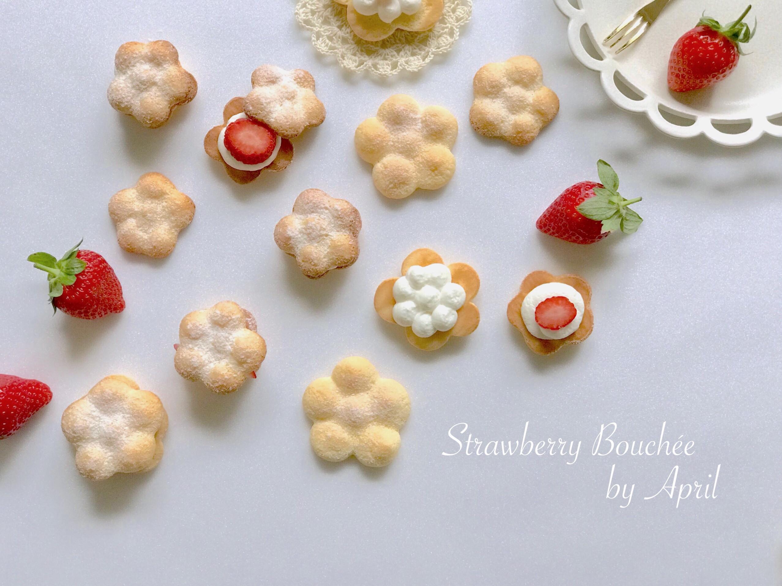 草莓生乳布雪(Bouchée)