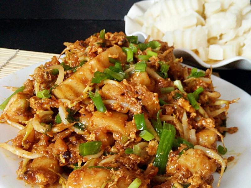 粿角(用白粥做粿角)