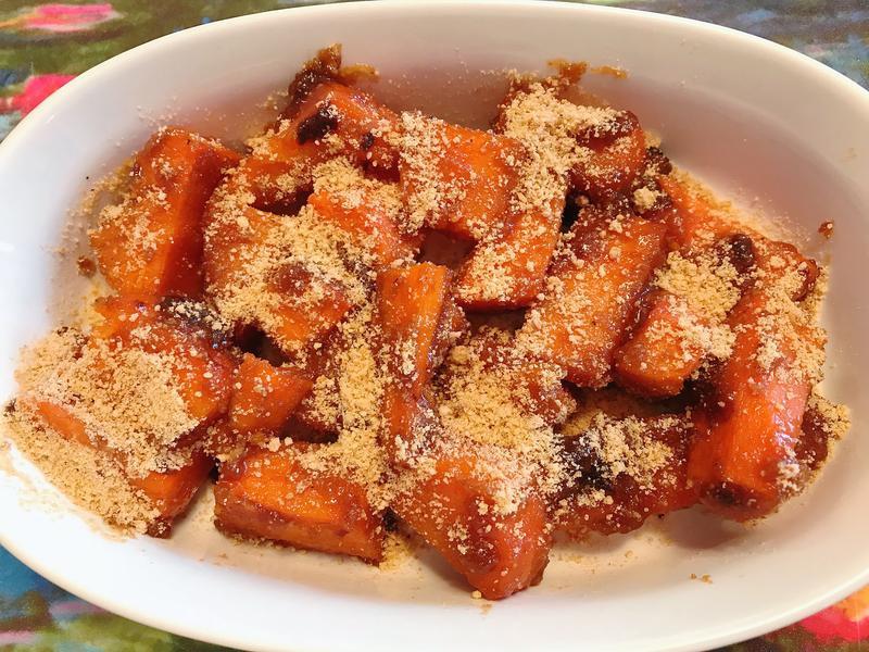 自製糖心甜薯- 花生蜜番薯