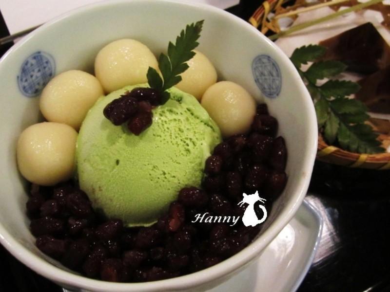 ♥開動with Kat♥「宇治金時」綠茶冰淇淋佐蜜紅豆
