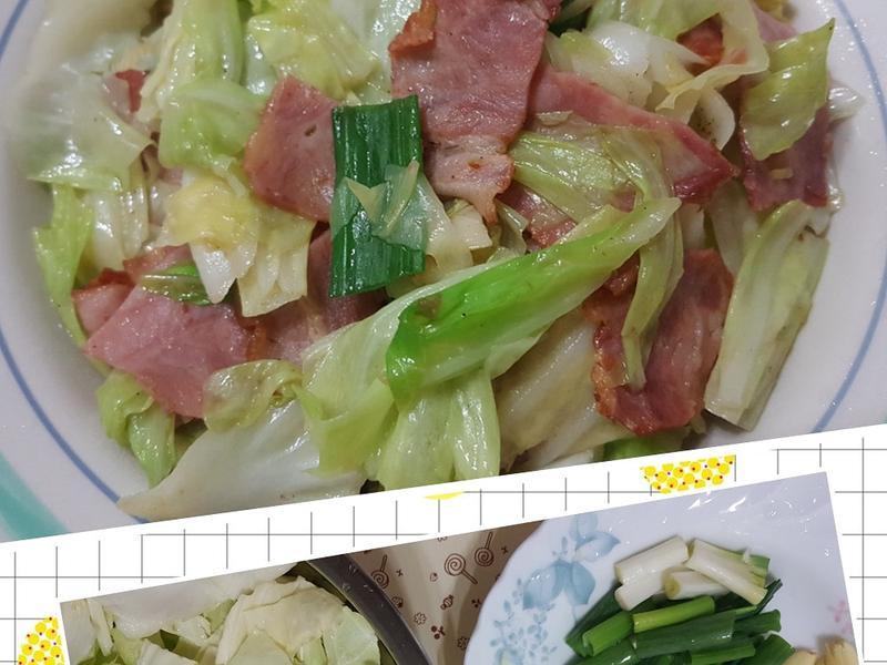 培根高麗菜