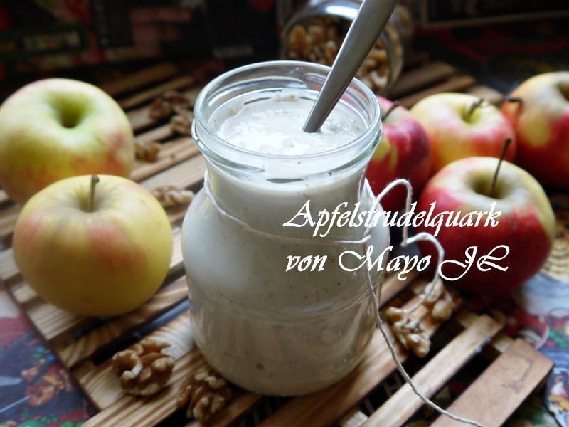 蘋果堅果夸克麵包抺醬