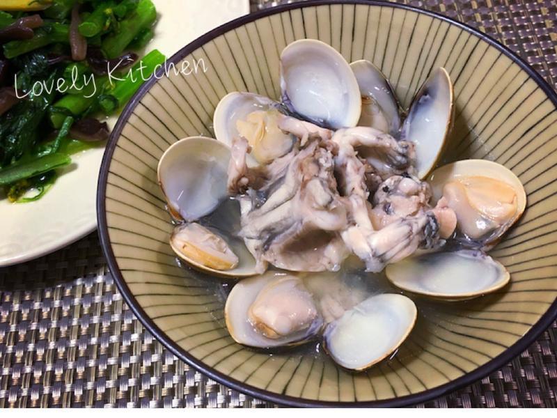 蒜頭燉田雞蛤仔湯【不一樣家常菜】