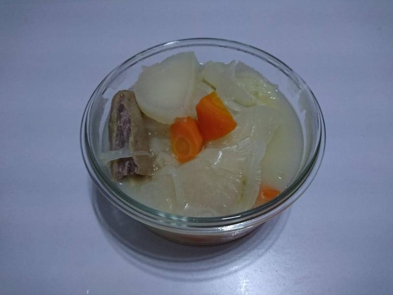 蘿蔔豬尾湯(電鍋版)