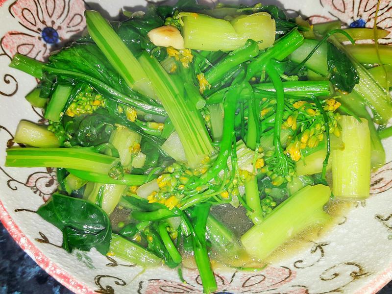 蒜香油菜花