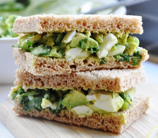 酪梨蛋沙拉三明治
